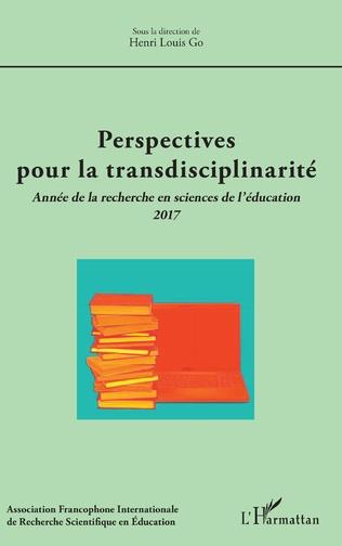 Couverture Perspectives pour la transdisciplinarité