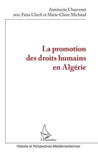 Couverture La promotion des droits humains en Algérie