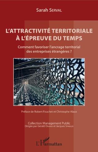 Couverture L'attractivité territoriale à l'épreuve du temps