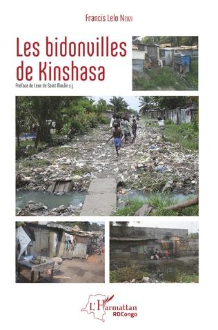 Couverture Les bidonvilles de Kinshasa (nouvelle version en couleur)