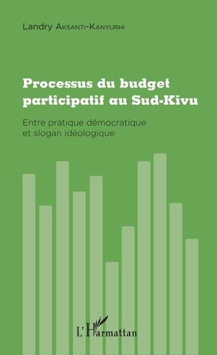 Couverture Processus du budget participatif au Sud-Kivu