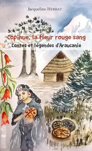 Couverture Copihue, la fleur rouge sang