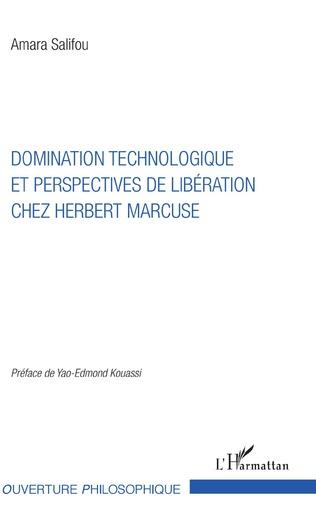 Couverture Domination technologique et perspectives de libération chez Herbert Marcuse