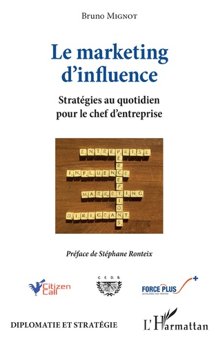 Couverture Le marketing d'influence