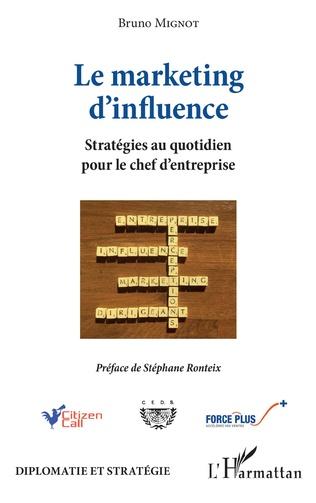Couverture Le marketing d'influence