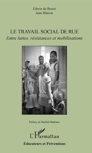 Couverture Le travail social de rue