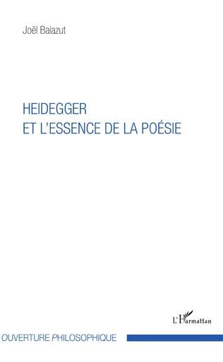Couverture Heidegger et l'essence de la poésie