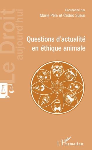 Couverture Questions d'actualité en éthique animale