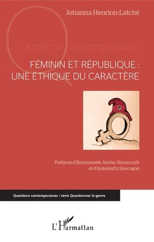 Couverture Féminin et République