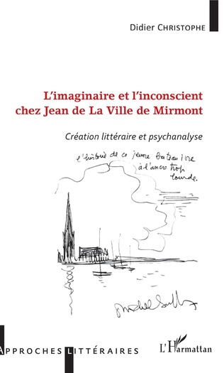 Couverture L'imaginaire et l'inconscient chez Jean de La Ville de Mirmont