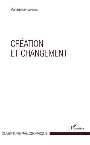 Couverture Création et changement