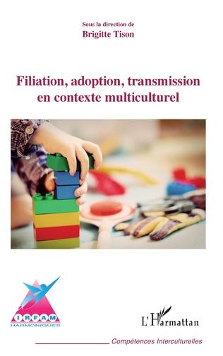 Couverture Filiation, adoption, transmission en contexte multiculturel