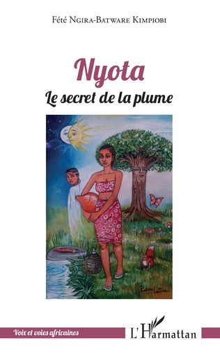 Couverture Nyota le secret de la plume