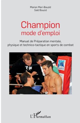 Couverture Champion mode d'emploi