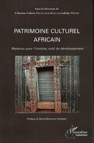 Couverture Patrimoine culturel africain