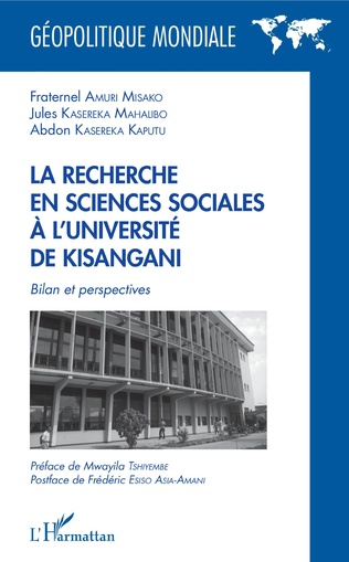 Couverture La recherche en sciences sociales à l'université de Kisangani