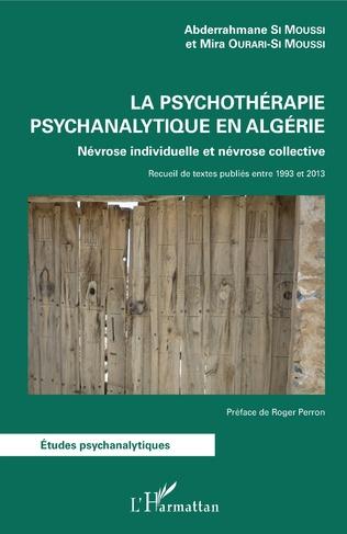 Couverture La psychothérapie psychanalytique en Algérie