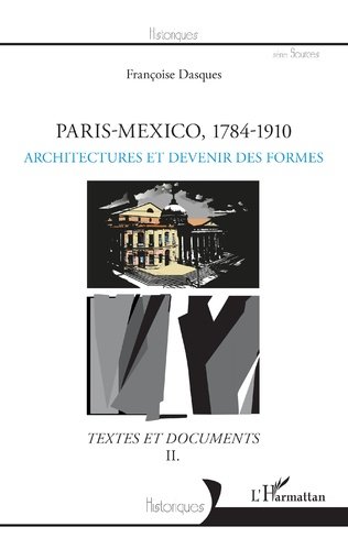 Couverture Paris-Mexico, 1784-1910