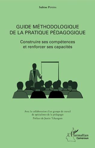 Couverture Guide méthodologique de la pratique pédagogique