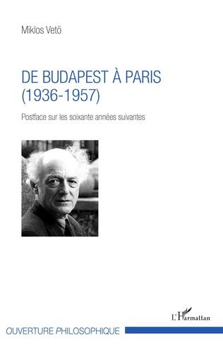 Couverture De Budapest à Paris