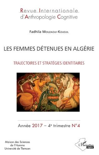 Couverture Les femmes détenues en Algérie