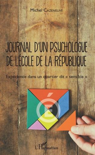 Couverture Journal d'un psychologue de l'École de la République