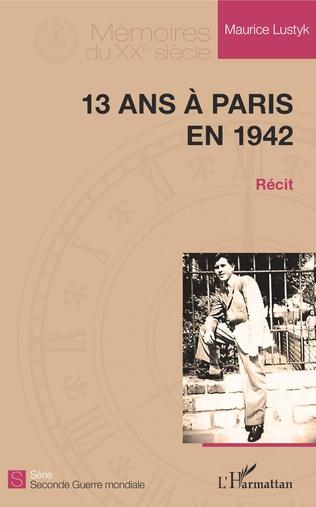 Couverture 13 ans à Paris en 1942