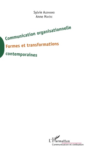 Couverture Communication organisationnelle