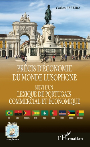 Couverture Précis d'économie du monde lusophone