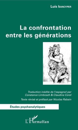 Couverture La confrontation entre les générations