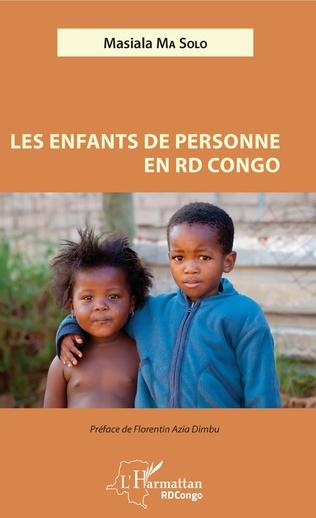 Couverture Les enfants de personne en RD Congo