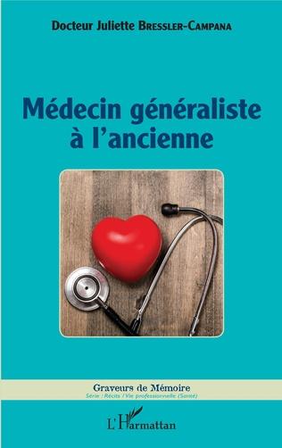 Couverture Médecin généraliste à l'ancienne