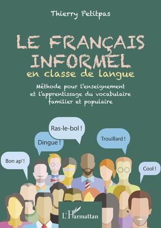 Couverture Français informel en classe de langue
