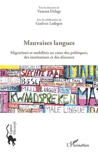 Couverture Espace plurilingue et affichage des mauvaises langues à Alger