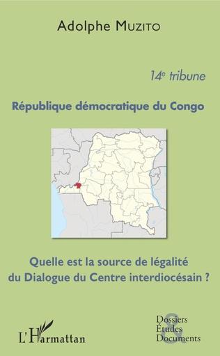 Couverture République démocratique du Congo 14e tribune
