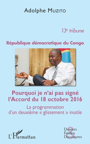Couverture République démocratique du Congo 13e tribune