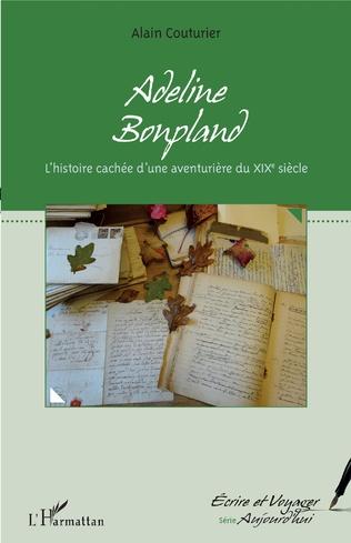 Couverture Adeline Bonpland