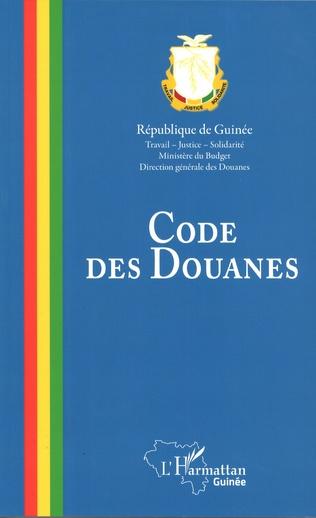 Couverture Code des douanes