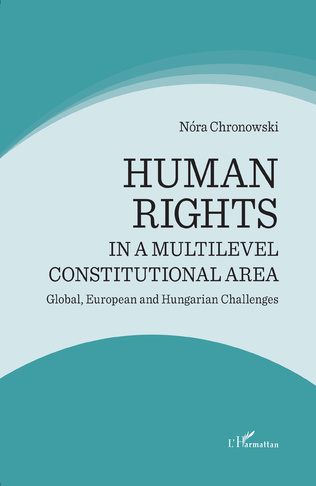 Couverture Human rights in a multilevel constitutional area