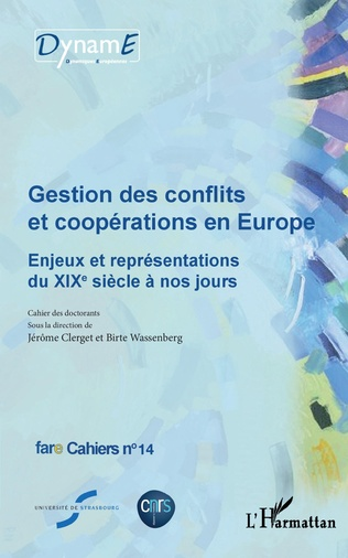 Couverture Gestion des conflits et coopérations en Europe