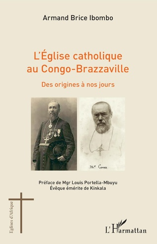Couverture L'église catholique au Congo-Brazzaville