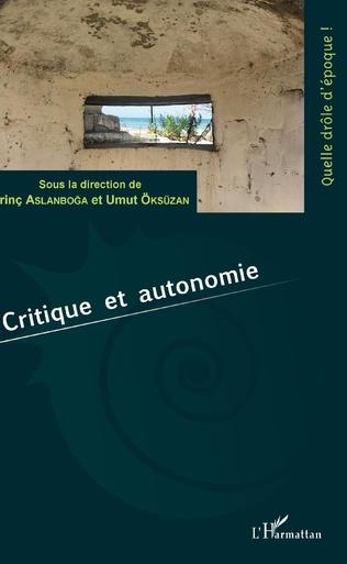 Couverture Critique et autonomie