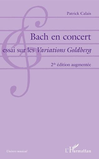 Couverture Bach en concert