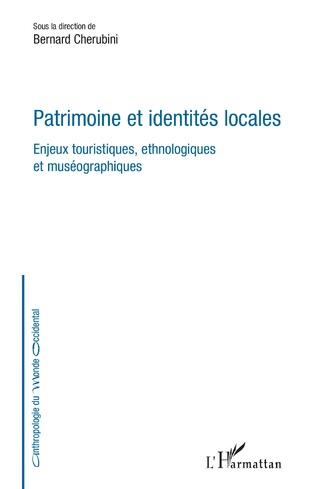 Couverture Patrimoine et identités locales