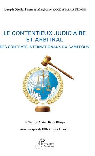 Couverture Le contentieux judiciaire et arbitral
