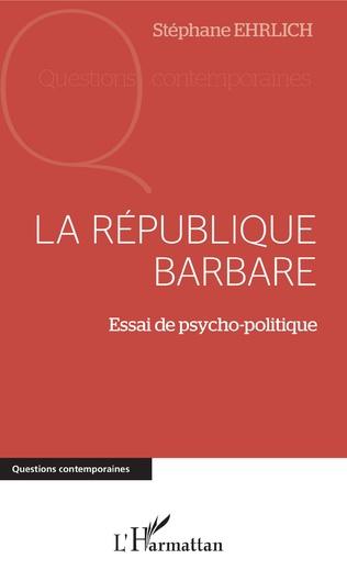 Couverture La république barbare