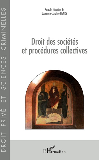 Couverture Droit des sociétés et procédures collectives