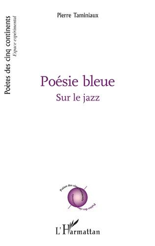 Couverture Poésie bleue