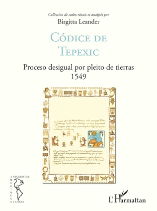 Couverture Códice de Tepexic