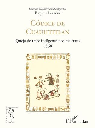 Couverture Códice de Cuauhtitlan